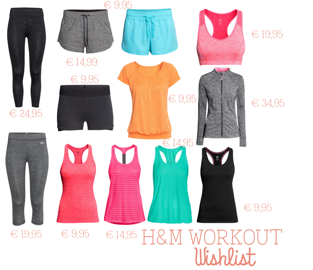 H&M sportkleding, workout