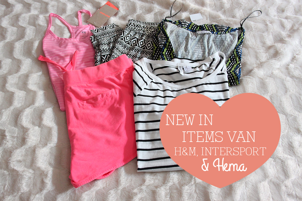 Items van H&M, Intersport en Hema