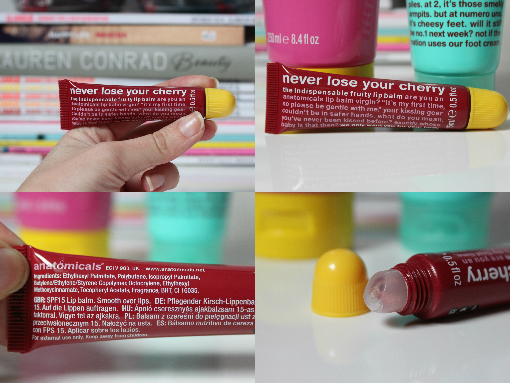 Anatomicals Never lose your cherry lip balm