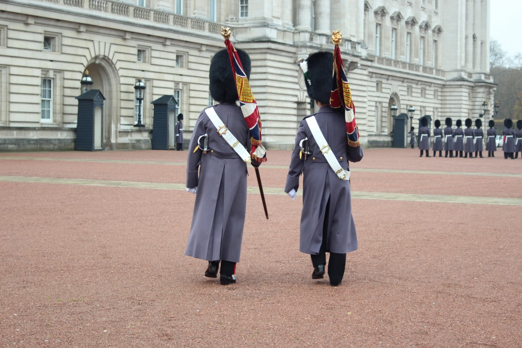 Change of guards Buckingham Palace