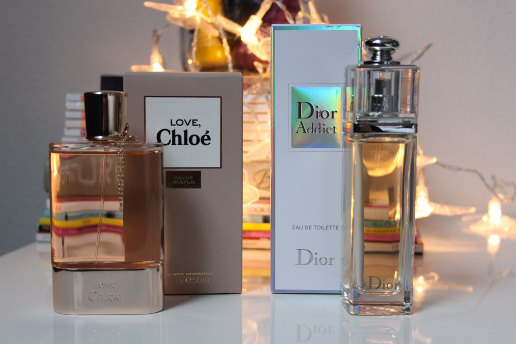 Dior Addict en Chloé Love
