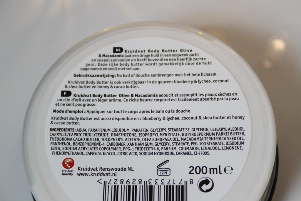 Kruidvat Body Butter