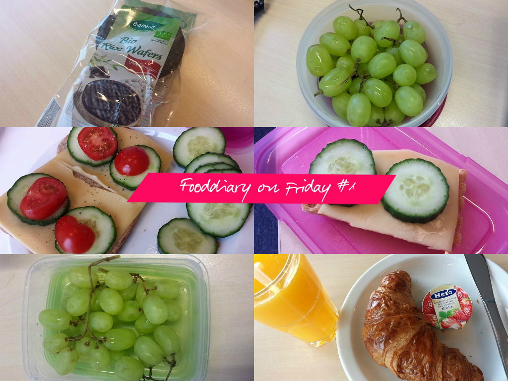 Fooddiary on friday #1