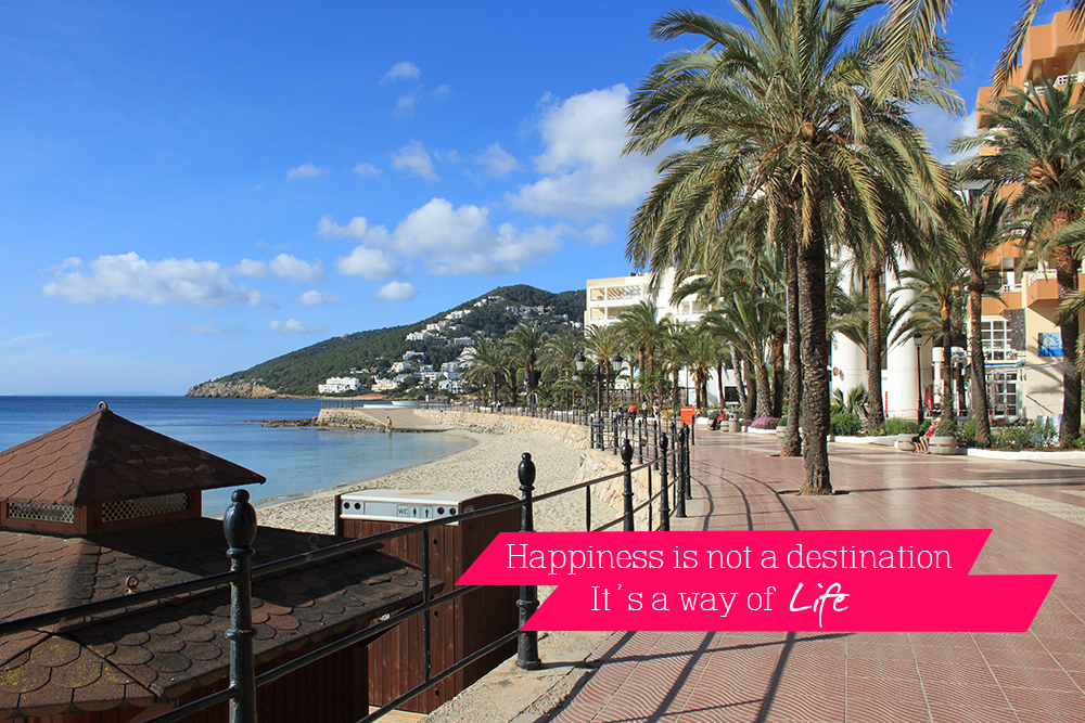 Happiness is not a destination #2