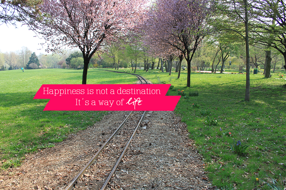 happiness is not a destination #4
