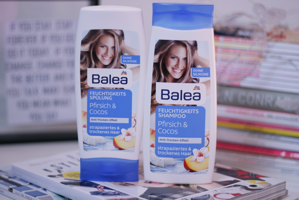 Balea shampoo & conditioner