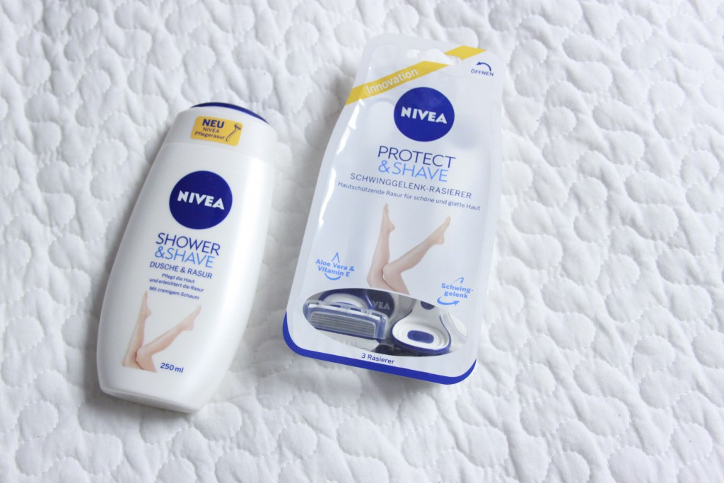 Nivea shower & shave, Nivea Protect & Shave