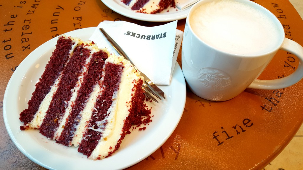 Red Velvet Cake Starbucks
