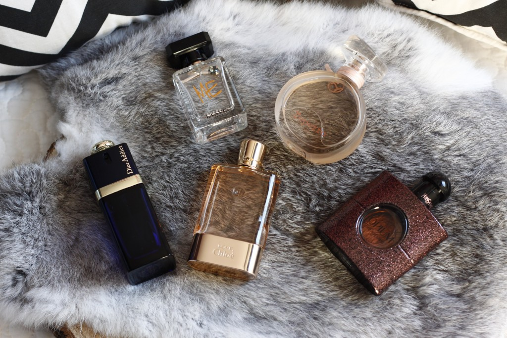 Winter parfums