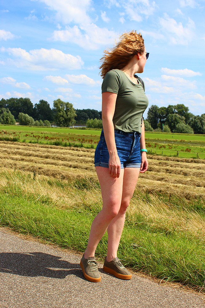 Outfit: Sacha sneakers