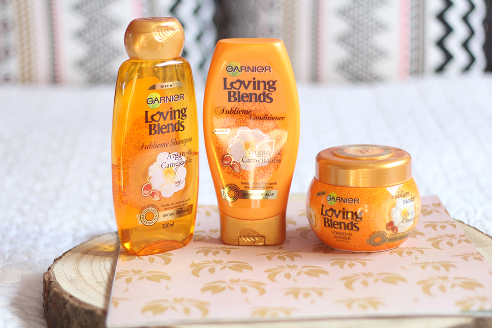 Garnier Loving Blends Arganolie