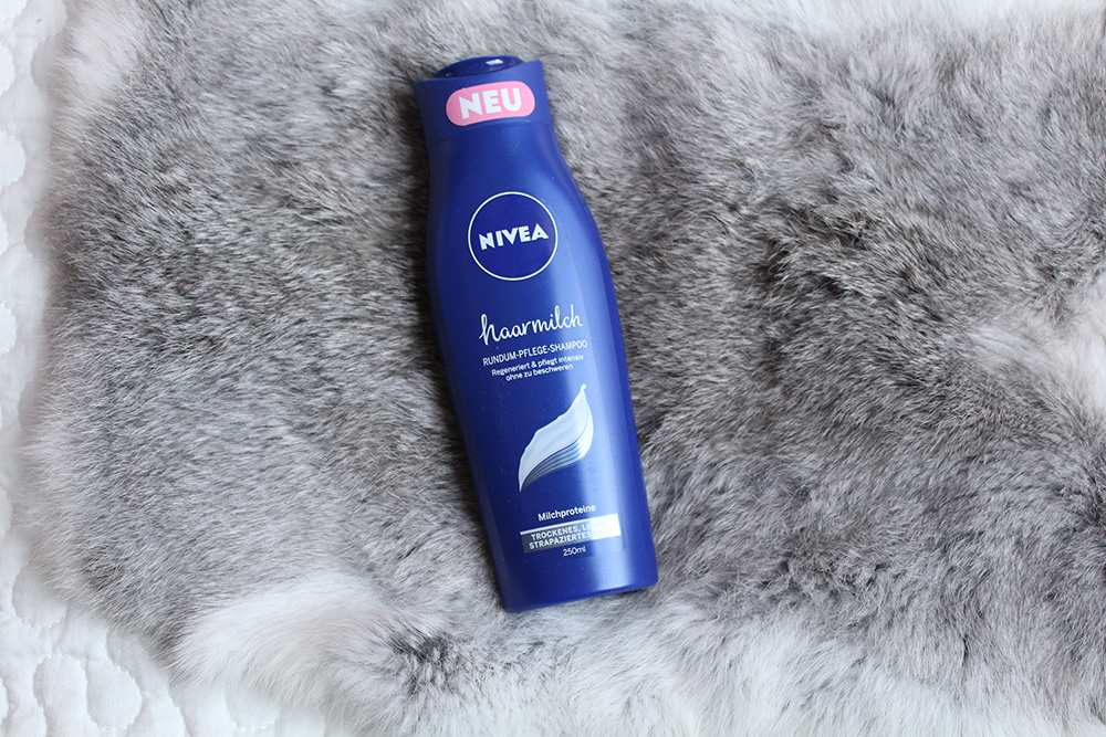 Nivea Hairmilk shampoo