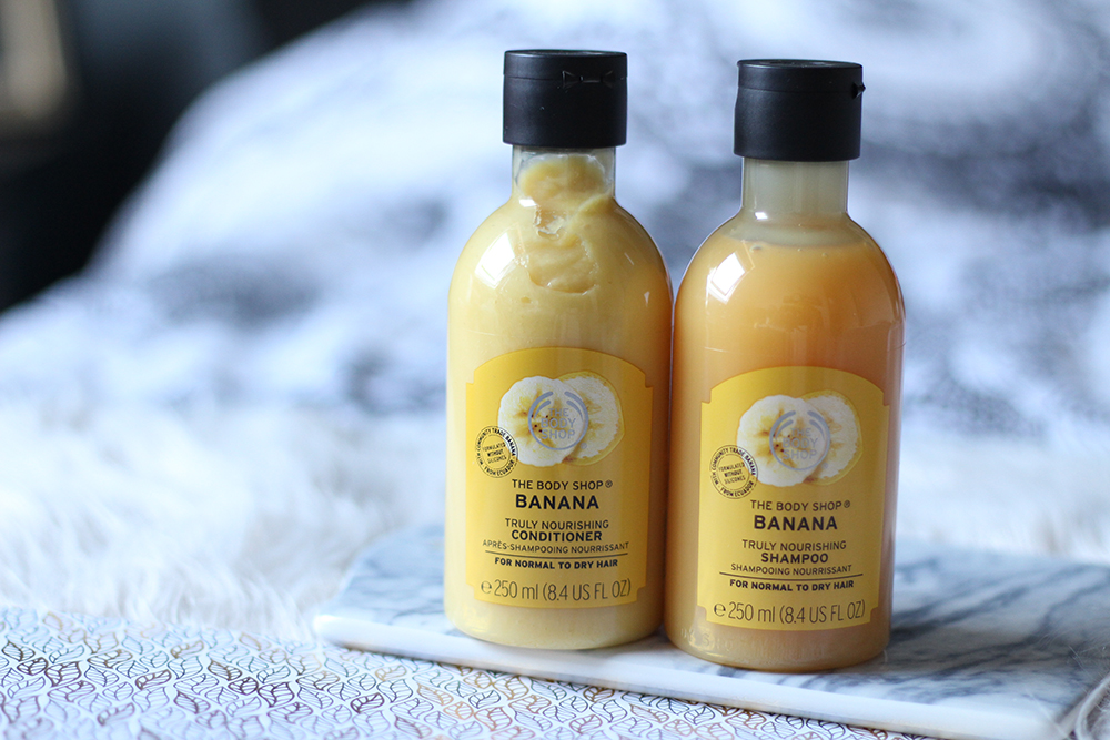 The Body Shop Banana shampoo en conditioner